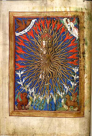 Trinity from a Book of Hours, an untypical dep...