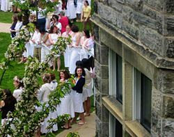 May Day at Bryn Mawr College