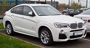 BMW X - Image: BMW X4 x Drive 35d M Sportpaket (F26) – Frontansicht, 11. April 2015, Düsseldorf