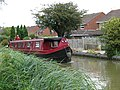 Back gardens run down to the Oxford Canal - geograph.org.uk - 946750.jpg