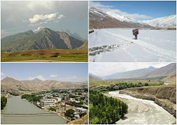 Different districts of Badakhshan Province