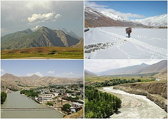 Badakhshan Province - Different districts of Badakhshan Province