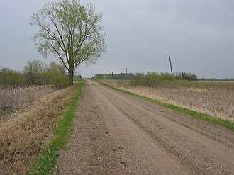 Badger Township, Polk County, Minnesota - Roadside, Badger Township, May, 2007