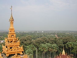 Skyline of Bago
