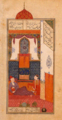 Bahram Gur in the Red Pavilion (Seven beauties).png