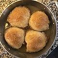 Baked apple dumplings in a pan (cropped square).jpg