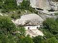 Bakhchisaray - rock house (2).JPG