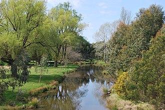Werribee River - Image: Ballan Werribee River 001