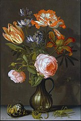 Still Life of a Vase with Flowers