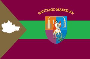 Santiago Matatlan - Image: Bandera de Santiago Matatlán