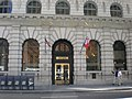Bank of Italy Building entrance, 552 Montgomery St., SF.JPG