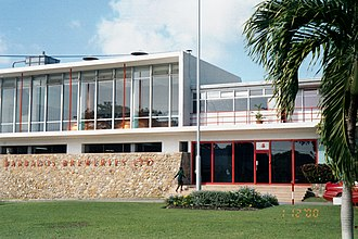 Banks Barbados Brewery - Entry to Banks Brewery in Barbados (c.a. November 2000)