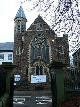 Monk Street, Monmouth - Image: Baptist Church, Monmouth geograph.org.uk 648854