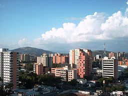Barquisimetos skyline.