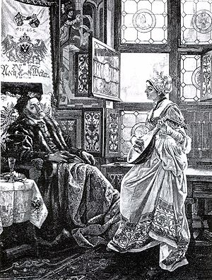 Barbara Blomberg - Charles V and Barbara Blomberg