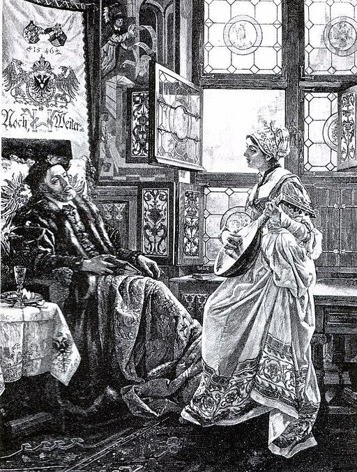 Barbara Blomberg y el Emperador Carlos V