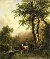 Barend Cornelis Koekkoek - Italiaans landschap.jpg