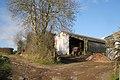 Barns and a track, Hestow Barton - geograph.org.uk - 1624965.jpg