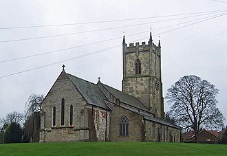 Barrow upon Humber - Image: Barrow Church geograph.org.uk 661510