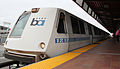Bart A car Oakland Coliseum Station.jpg