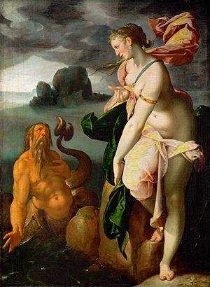 Scylla - Glaucus and Scylla