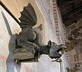 Bartolomeo ammannati (attr.), vasca con arme busdraghi e dragone, 02.JPG
