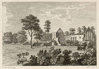 Basingwerk Monastery, Flintshire, north-Wales