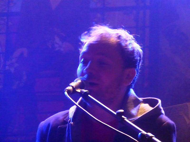 Bastien Lucas, au Festival des Granges (2013)