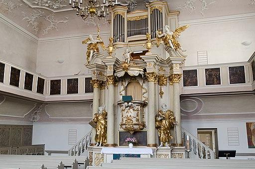 Spitalkirche Bayreuth Innenraum