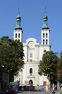 Pszów Place in Silesian Voivodeship, Poland