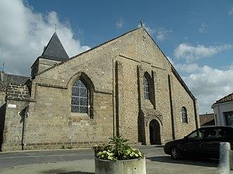 Beauvoir-sur-Mer - The church of Saint-Philibert, in Beauvoir-sur-Mer