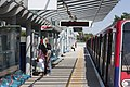 Beckton DLR Platform 1 with a train.jpg