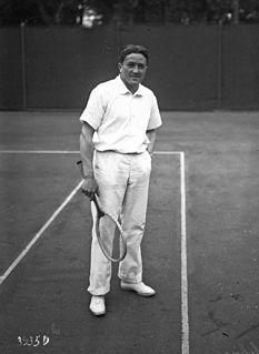 Béla von Kehrling Hungarian tennis player