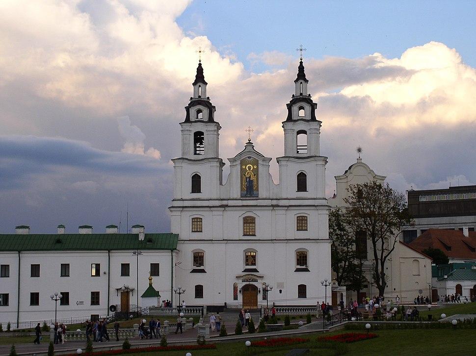 Belarus-Minsk-Cathedral of Holy Spirit-1