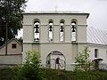 Bell tower of saint Nicholas church, Zavydovychi (01).jpg