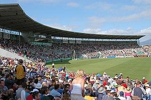 Sport in Tasmania - England vs Australia at Bellerive Oval in Hobart