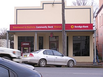 Bendigo and Adelaide Bank - Community Branch at Braidwood, New South Wales