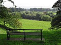 Bench with a view, Rickerby Park - geograph.org.uk - 1502336.jpg