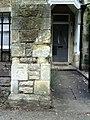 Benchmark on gatepost of Launton Lodge, Park Road - geograph.org.uk - 2070875.jpg