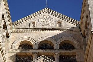 Church of the Transfiguration - Image: Berg Tabor BW 3