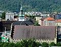 Bergen - Håkonshallen og Nykirken sett fra Sverresborg.jpg
