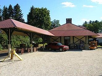 Berkshire Scenic Railway Museum - Berkshire Scenic Railway Museum Lenox Station