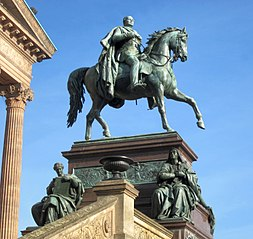Equestrian statue of Frederick William IV
