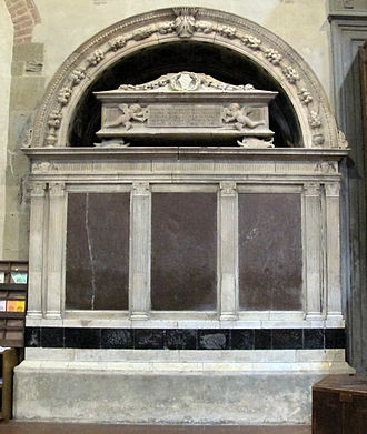 Bernardo Rossellino - Monument to Giannozzo Pandolfini, Badia Fiorentina, Florence.