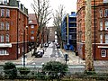 Bethnal Green, Navarre Street from Arnold Circus - geograph.org.uk - 1692320.jpg
