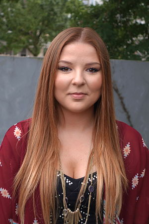 Bianca Ryan - Bianca Ryan at the Hollystock Music and Arts Festival in Mount Holly, New Jersey, in August 2015