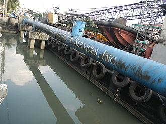 Maynilad Water Services - MWS, Estero de Binondo floodgate and pumping station