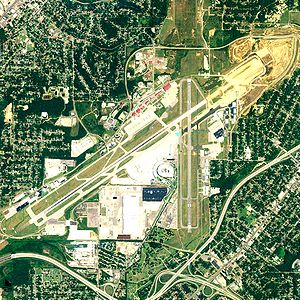 Birmingham–Shuttlesworth International Airport - NAIP aerial image, June 2006