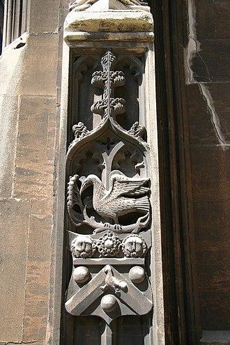 John Longland - Arms of Bishop John Longland, Lincoln Cathedral