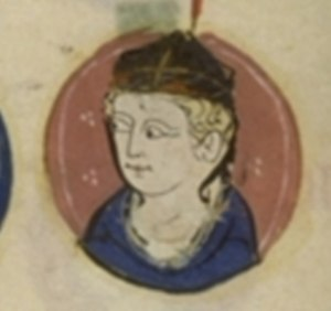 Henry of France, Archbishop of Reims - Henry from a 14th-century miniature